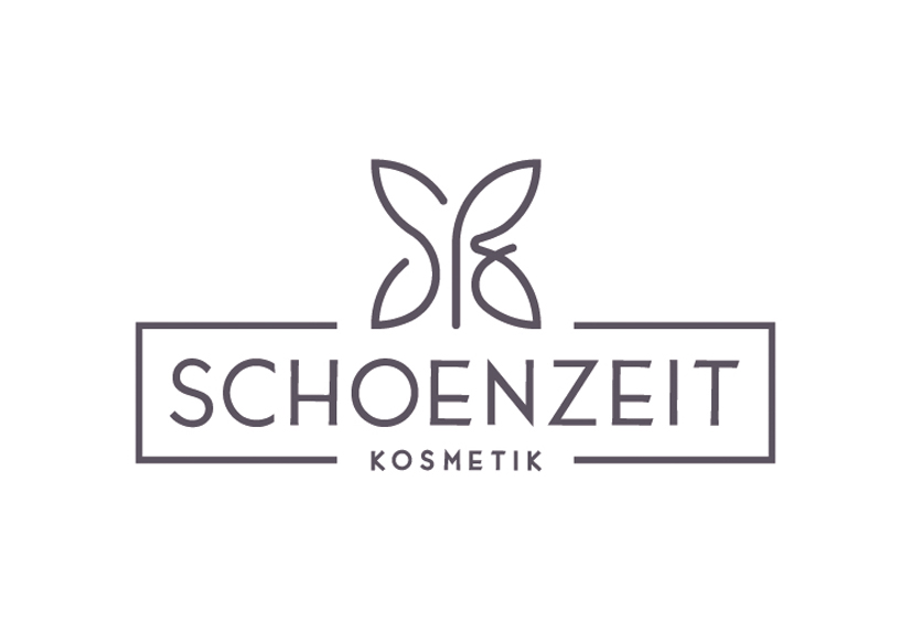 Schoenzeit Kosmetik Neues Logo Positivausführung